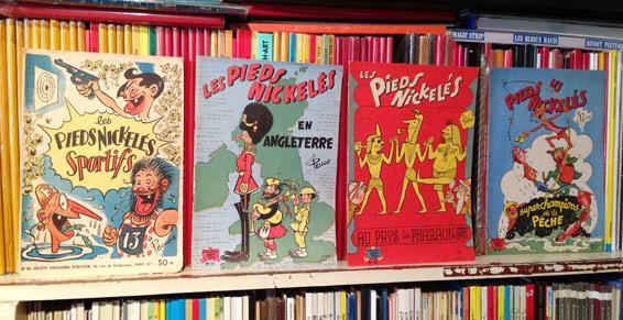 Edition SPE , albums des Pieds Nickelés année 1950/60