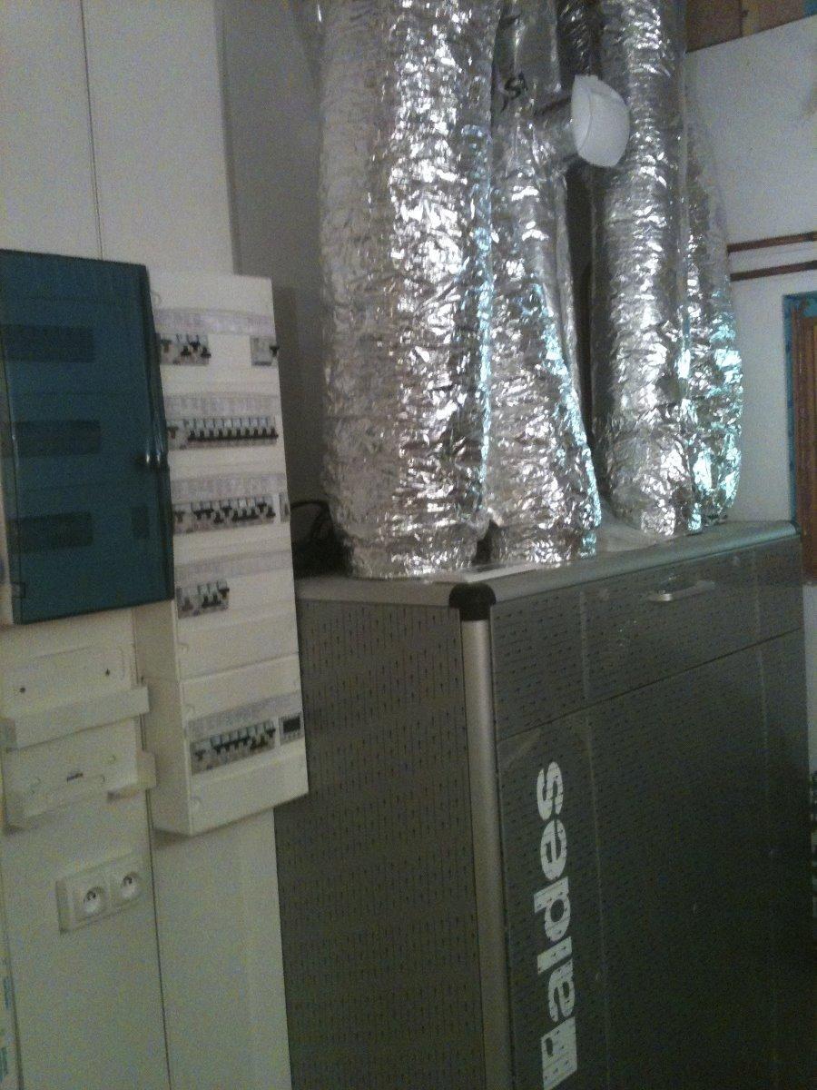 Tableau et Ventilation Thermo dynamique