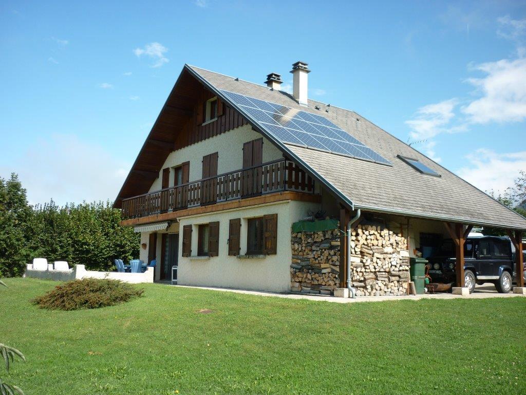 Panneaux photovoltaïques à Chambéry