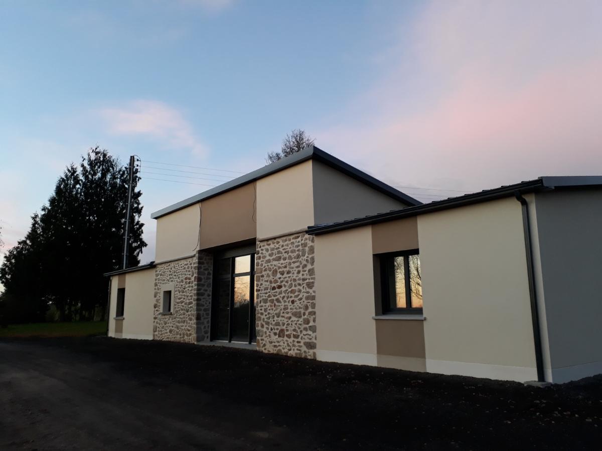 Rénovation pavillon Toiture Bac Acier