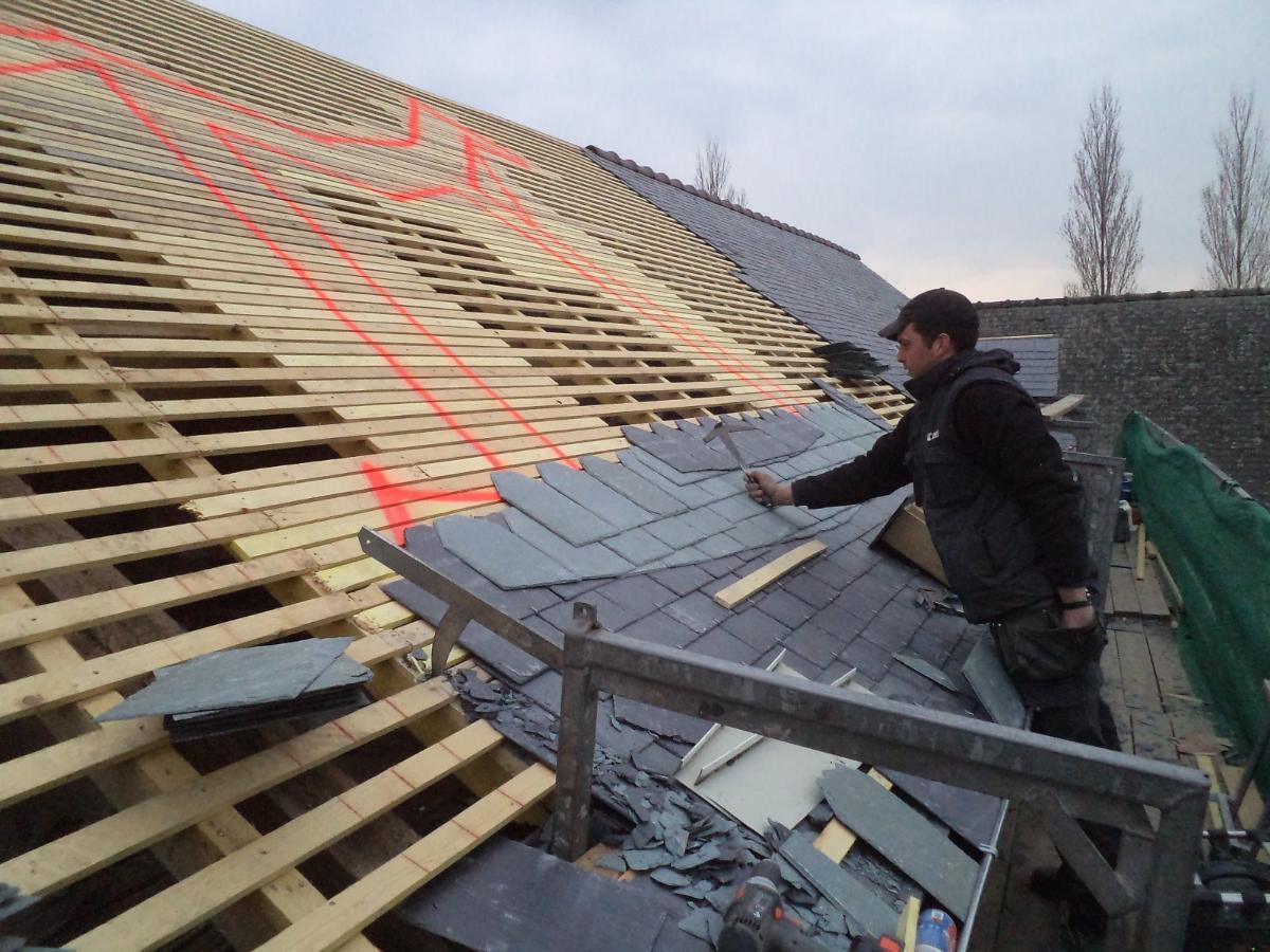 AG RENOV' à Martigné-sur-Mayenne en Mayenne (53) Couverture toiture