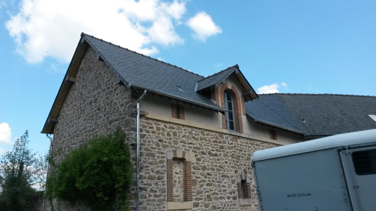 Rénovation couverture AG RENOV' à Martigné