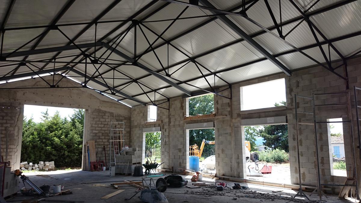 22- Aménagement loft dans hangar existant / Mr Mme R.E.