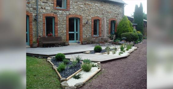 Conception de jardin à Vitré