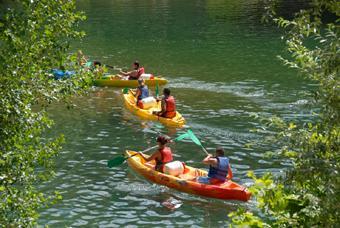 Kayak sur la risle