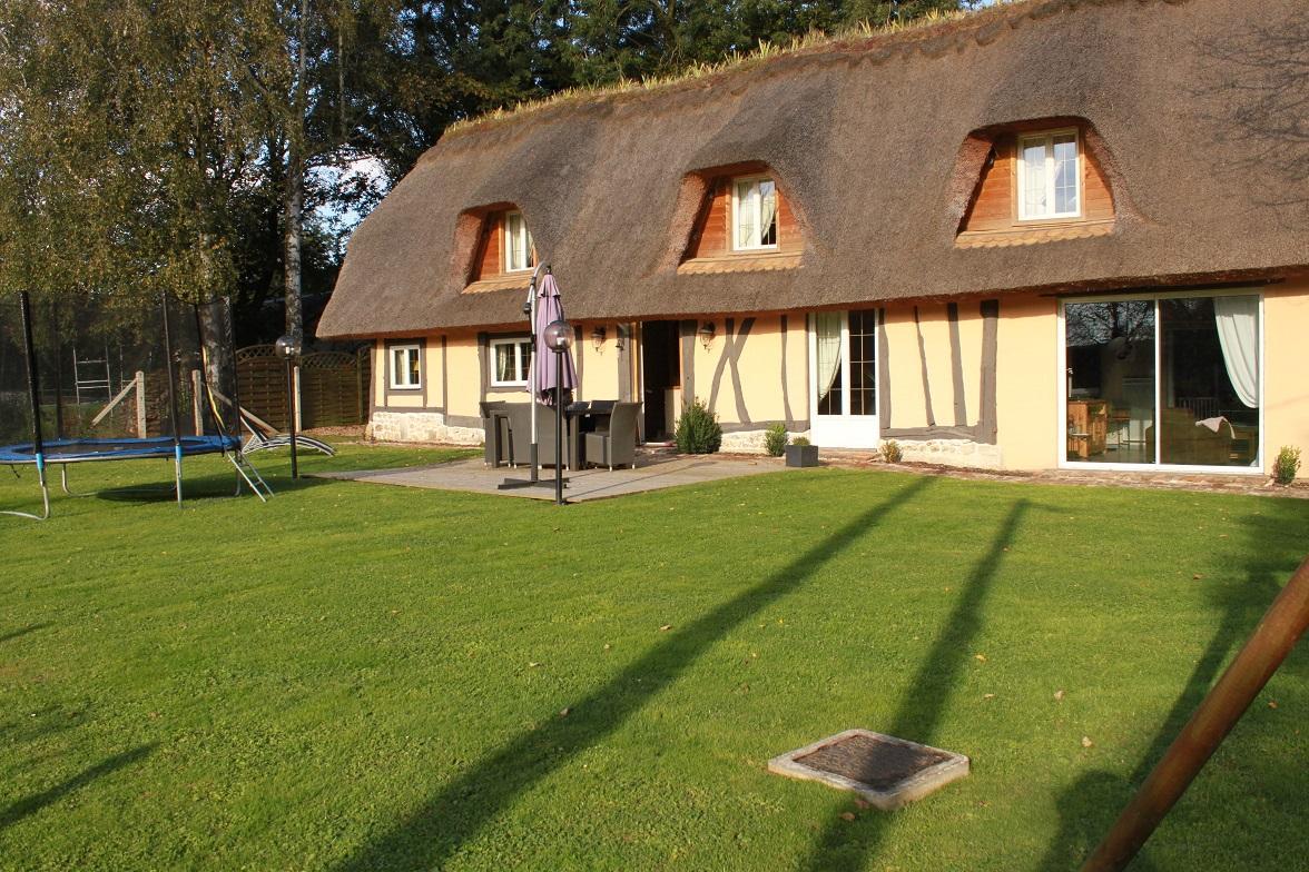 Jardin -  La Chaumière de Saint-Éloi-de-Fourques