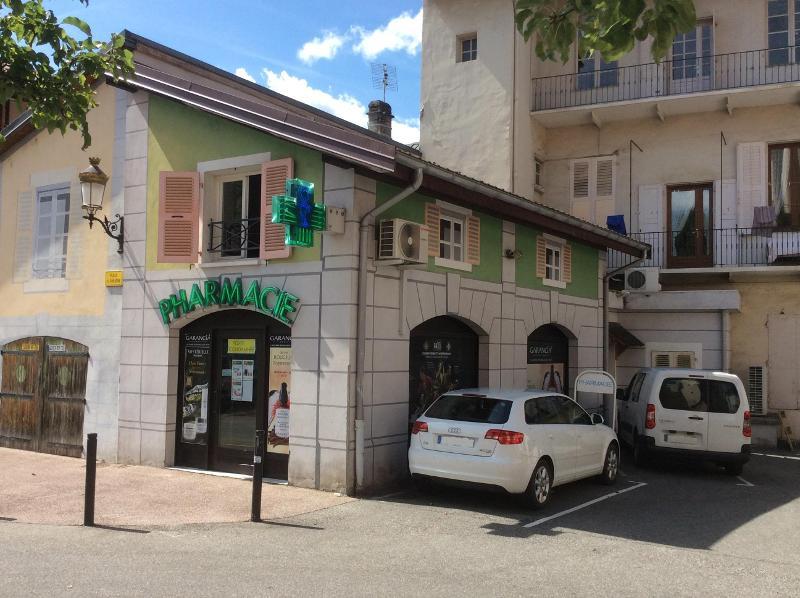 Parking gratuit de la pharmacie d'Albertville