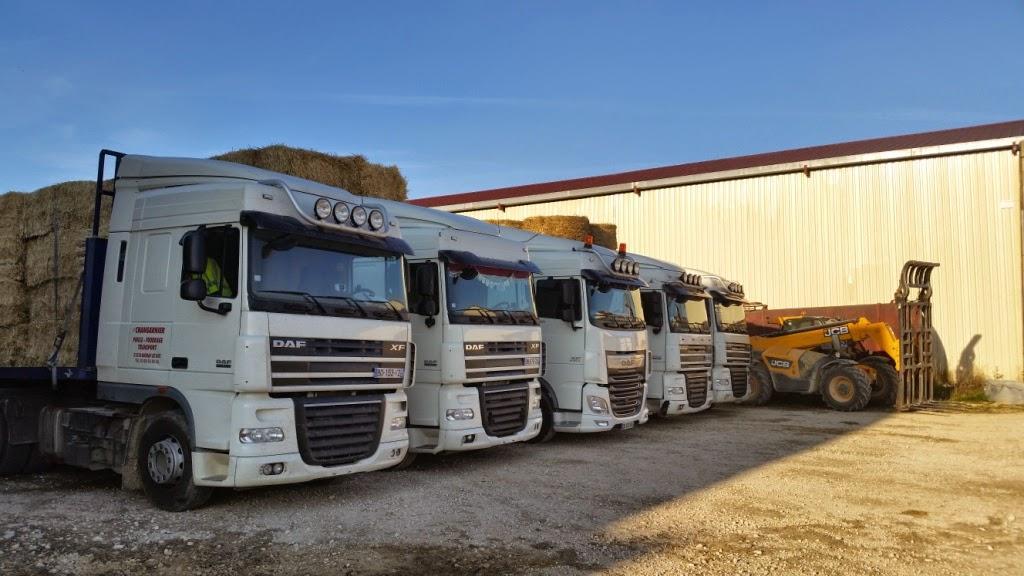 Brevon Transports en Suisse pour le fourrage