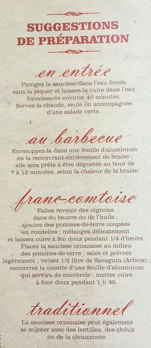 Origine et recettes de la saucisse Ornanaise.jpg