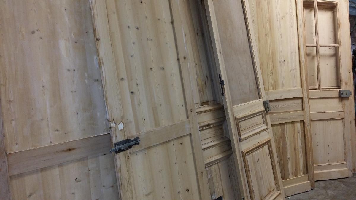porte decapée - Centre de décapage et dégraissage dans le Nord à Marquette-Lez-Lille