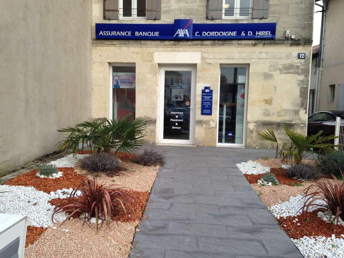 Axa Hirel Dordoigne à Coutras - Assurances (agents généraux)