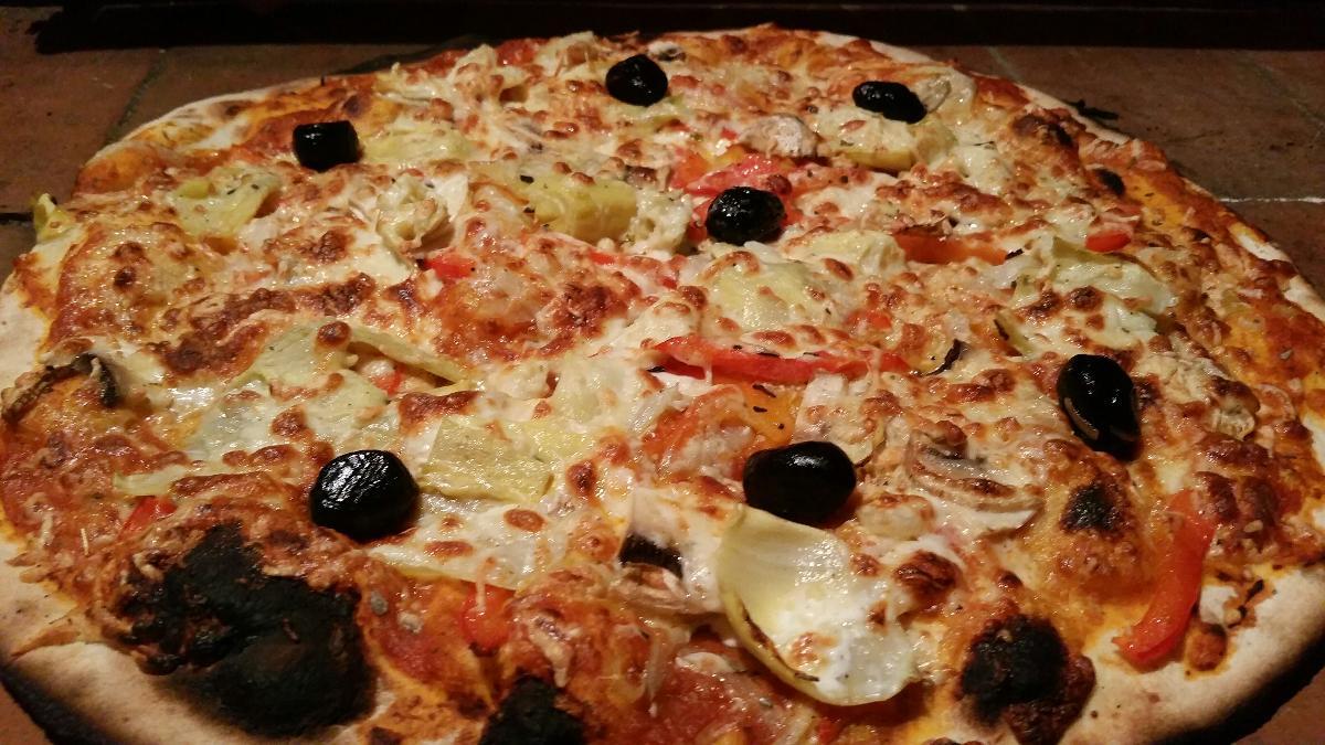 La pizzeria de la Vitarelle propose de nombreuses pizzas à emporter