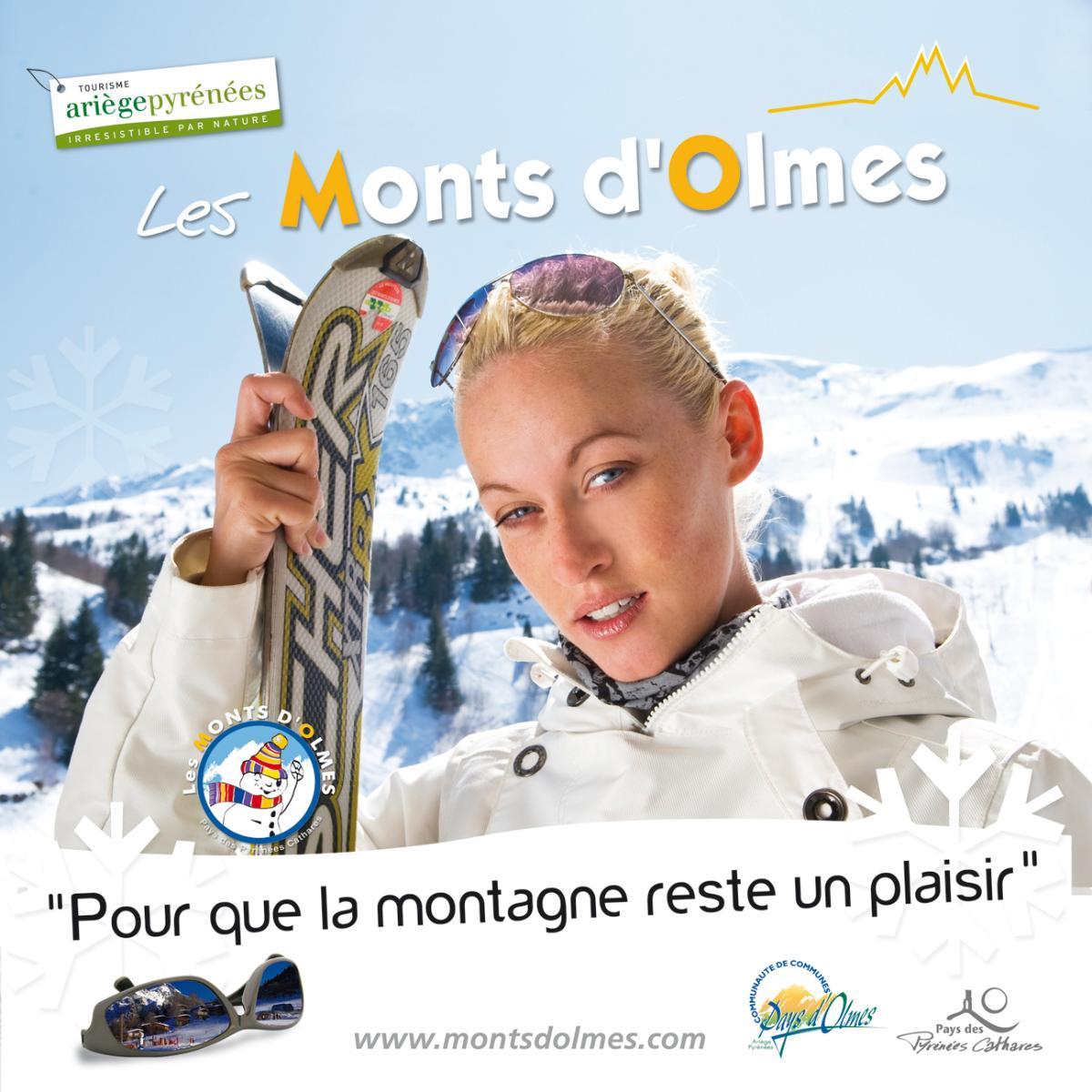 station de ski les monts d'olmes Ariège 09
