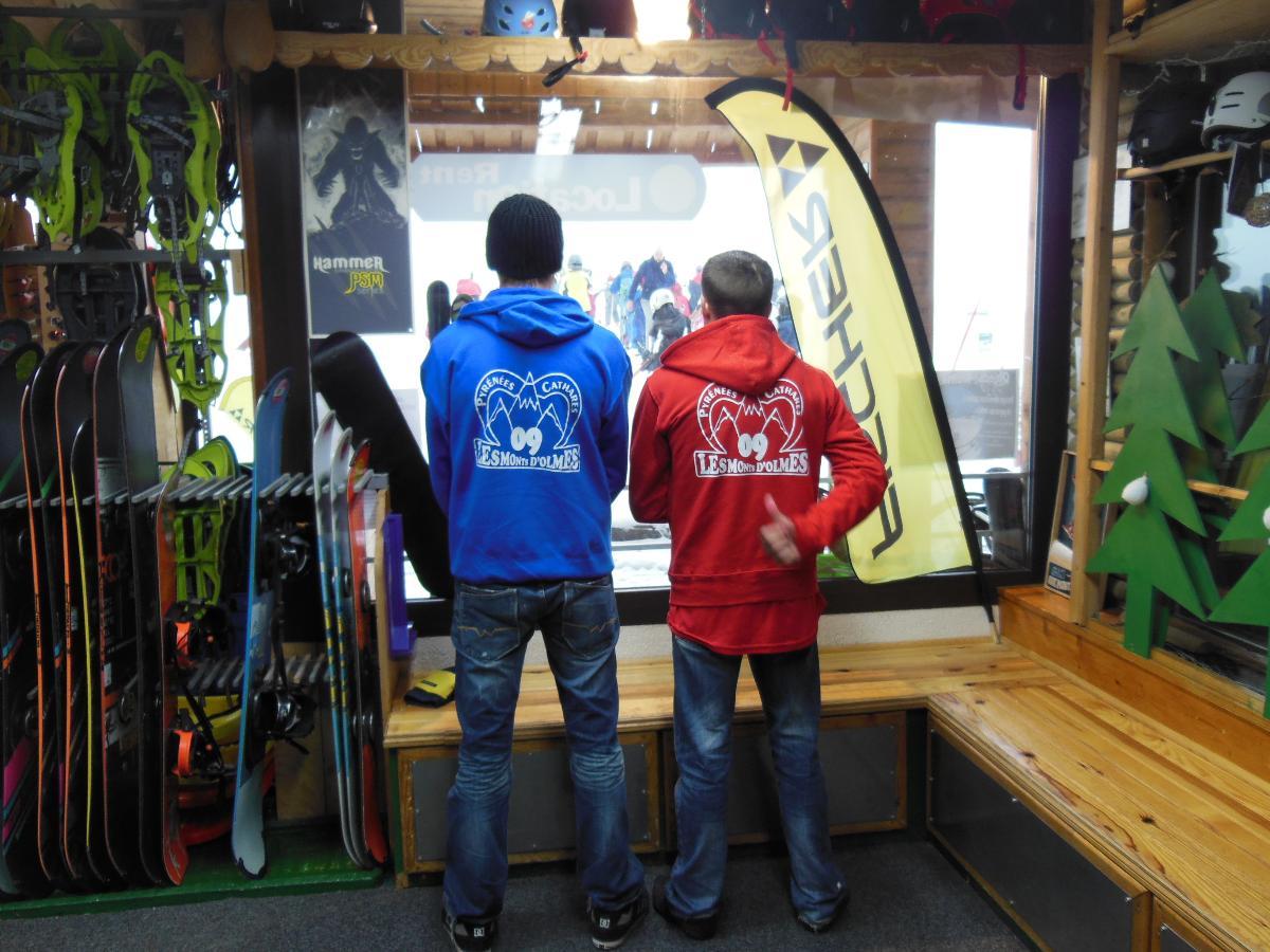 location de ski le mouflon les monts d'olmes