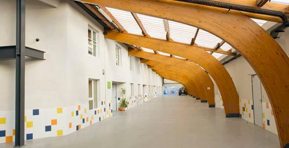 Aménagement intérieur et réhabilitation de friches industrielles