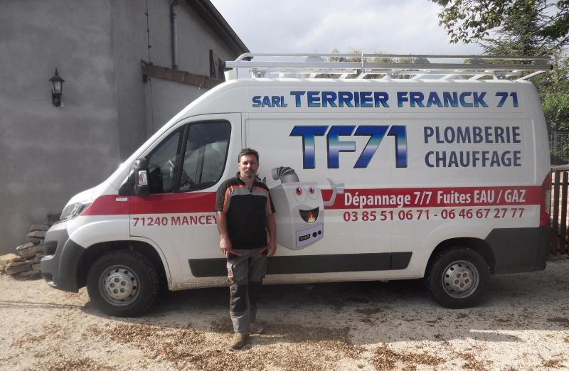 Terrier Franck 71 plombier chauffagiste près de Mâcon