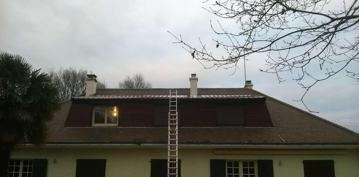 DB Couverture - rénovation toiture tuiles et isolation -Saint-Herblain