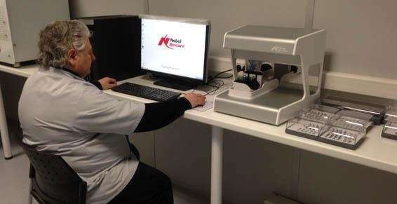 Travaux sur scanner pour une plus grande précision - ACDO à Orléans