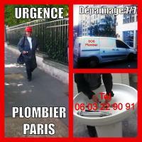 URGENCE PLOMBIER PARIS