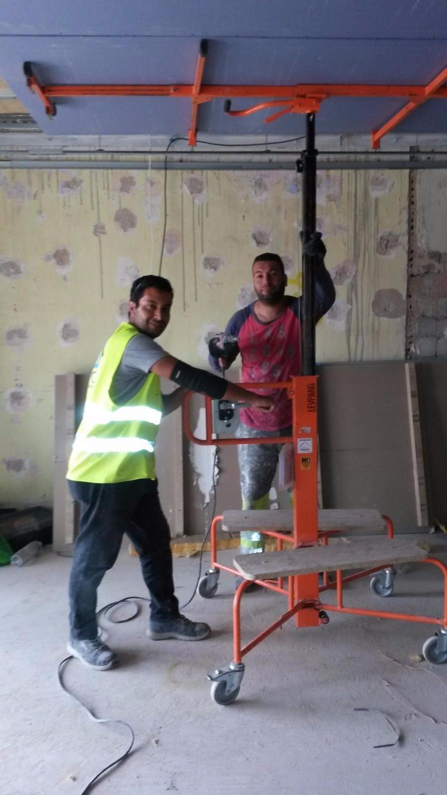 Doublage murs et plafond