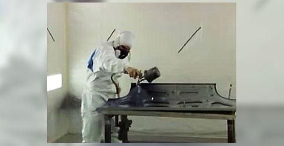 Cabine de peinture carrosserie - Garage Mâcon 71