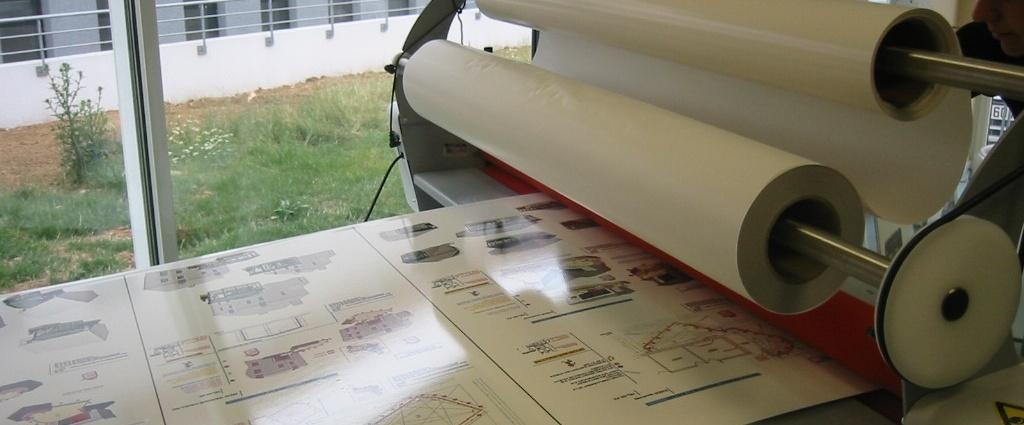 Photocopie reprographie - Lamination à froid