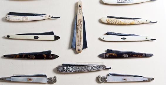 Collection de rasoirs coupe-choux