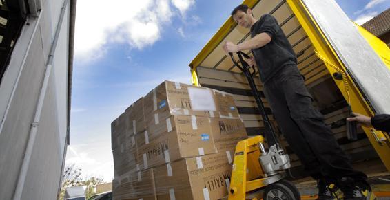 déménagements - camionette de déménagement