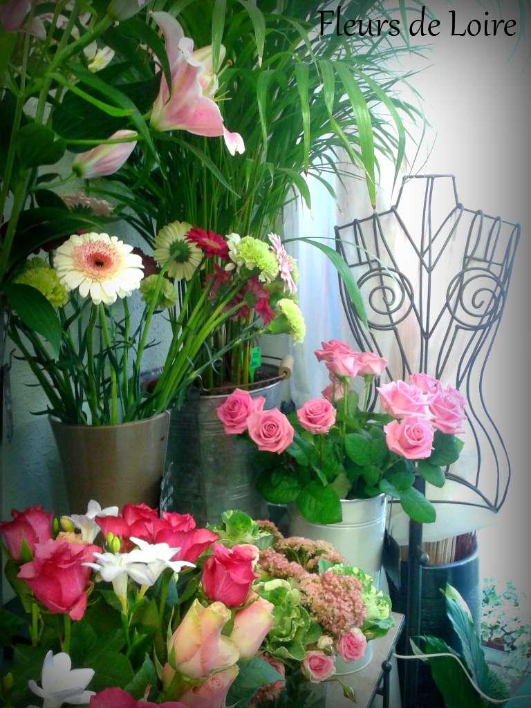 Fleurs de Loire à Saint-Mathurin-sur-Loire (49) livraison de fleurs