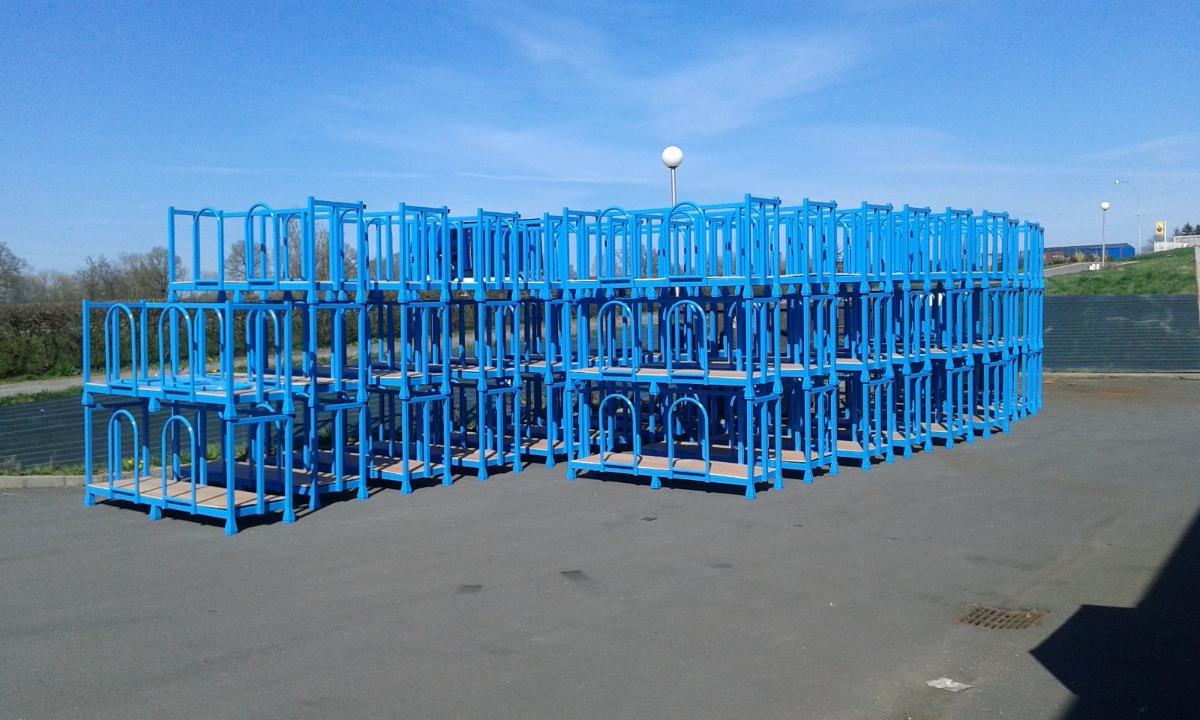 Bacs de stockage réalisés par TMP