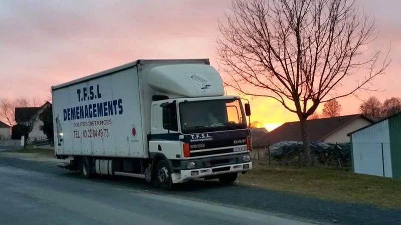 Location de camion avec chauffeur - Déménageurs Amiens