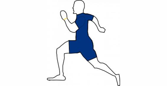 sportifs, récupération, réparation, préparation