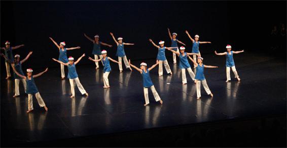 Jeunes ados en spectacle