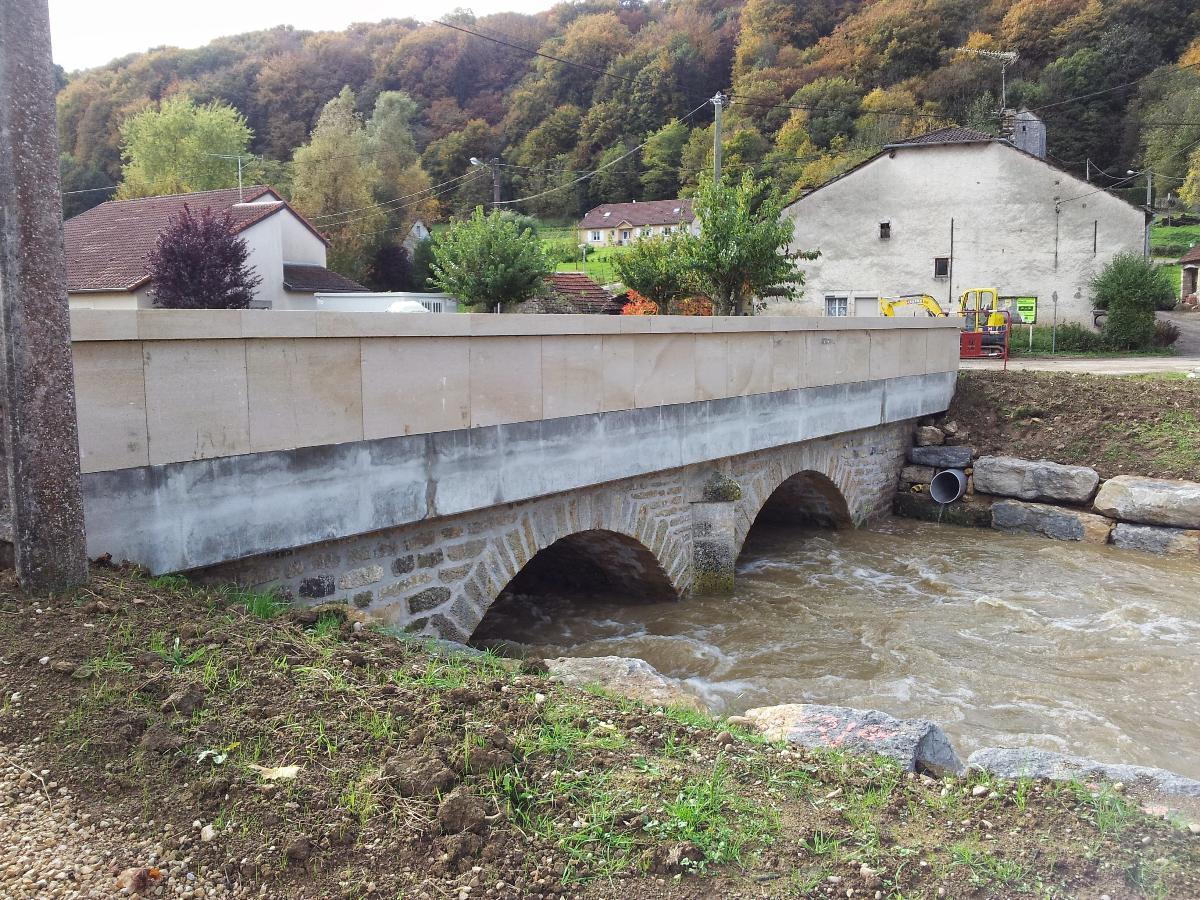 Rénovation d'un pont