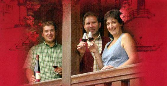 vins - Stéphane, Jean-Charles et Anny Vonville