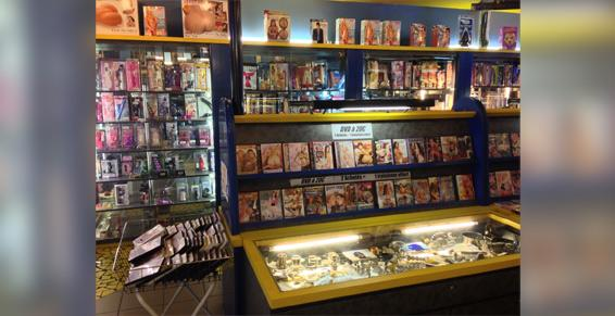 Marseille - Sex-shops - DVD