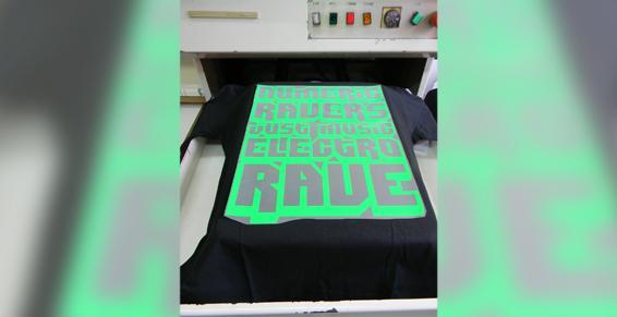 T-shirt en préparation