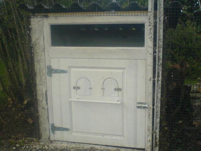 Fabrication cabane à poules après travaux à Pau