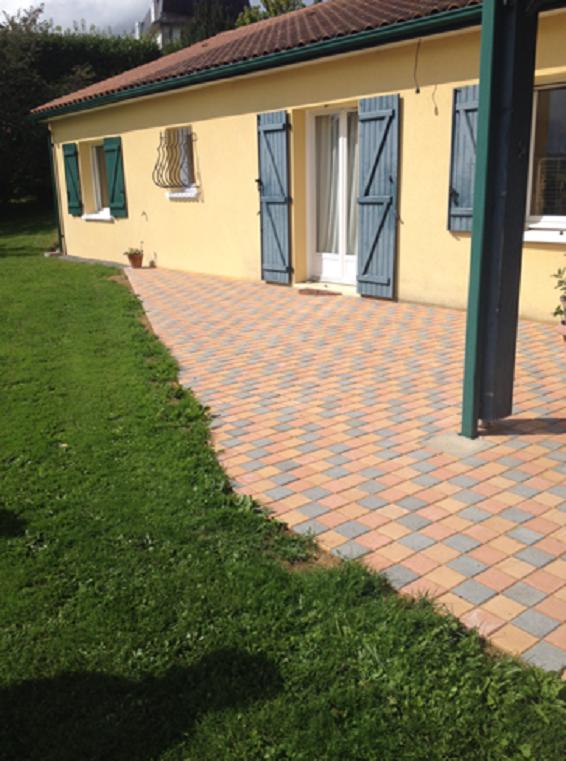 Aménagement de terrasse en Haute-Vienne 87