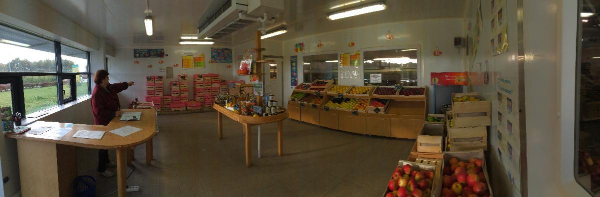 SARL Daudet Fruits, vente de pommes aux particuliers à Pessines (17)