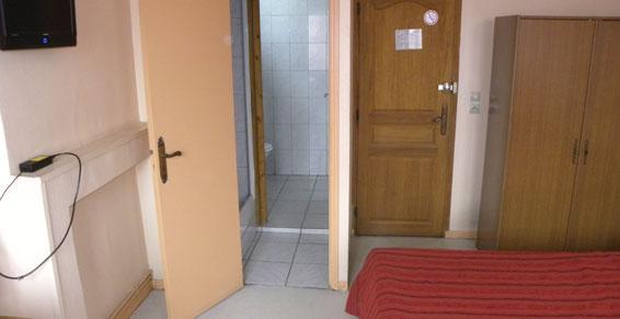 Hôtel - chambres équipées télévisions et salle de bains Le Quesnoy