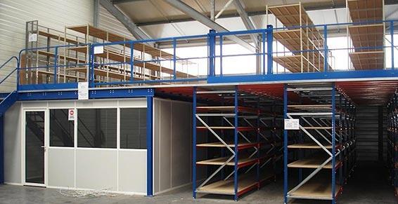 Merial - Équipements de stockage - Toulouse - Plateforme