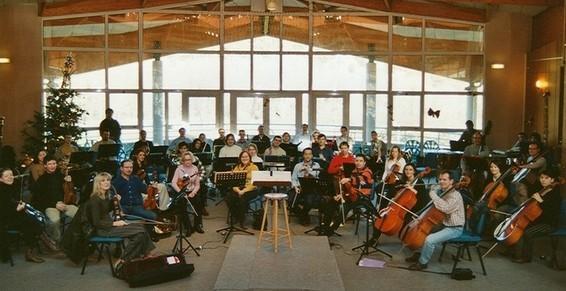 l'orchestre de catalogne dans notre espace détente
