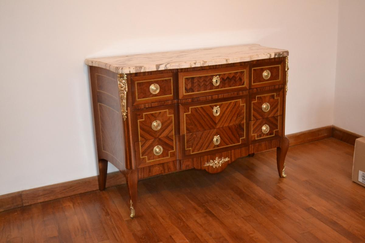 Restauration commode louis XVI