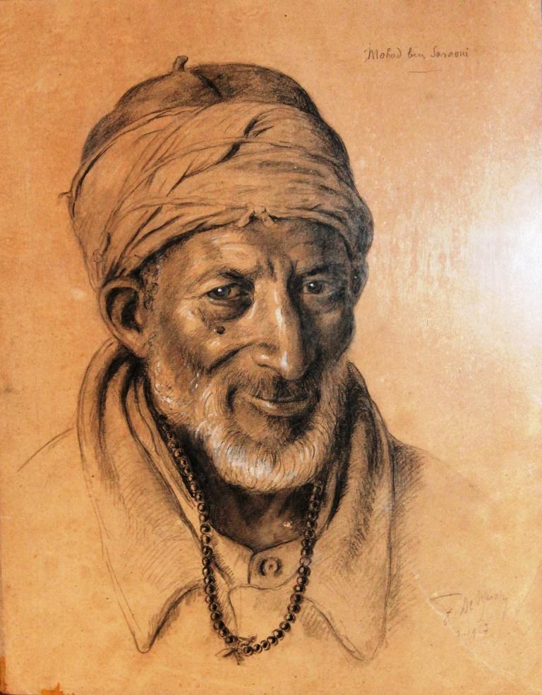 Portrait d'Homme Au Chapelet