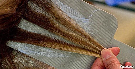 cheveux méchés