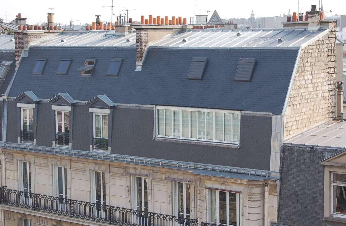 Réfection complète de couverture av. Niel PARIS