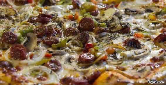 Large choix de pizzas avec Trismegiste Pizzas