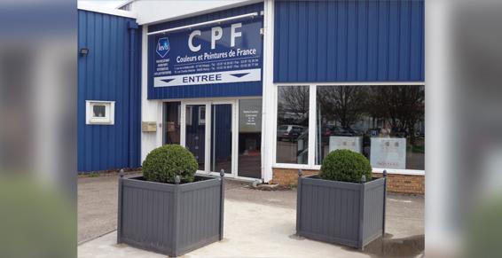 Couleurs et Peintures de France CPF à Woippy - Entrée magasin