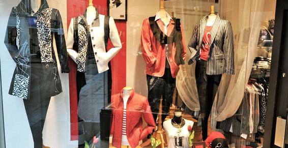 Vêtements femmes - Vitrine Caen